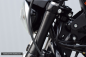 Preview: fork cover – Softail Breakout – curved – 2017 - 2018 – 49mm fork - black gloss