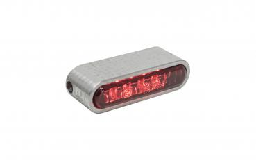 Taillight red glas