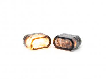 16mm Turn signal dark smoke