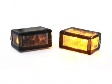 20mm Cube turn signal led dark smoke