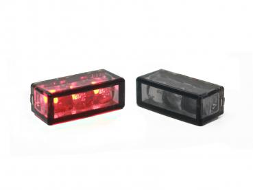 22mm Cube talllight dark smoke led
