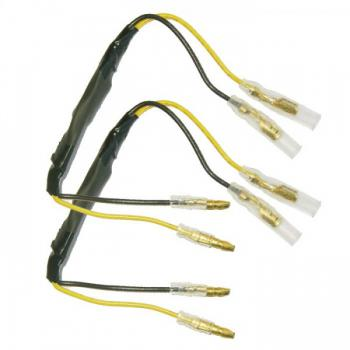 27 Ohm and 5 Watt resistor with adaptercables for LED indicators