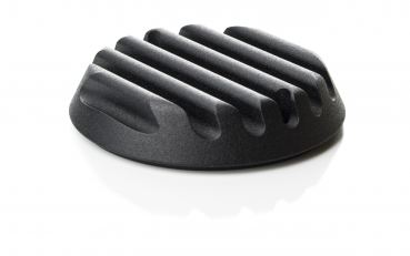 point cover ribbed - black powder-coated - Sportster - 2004 - 2019