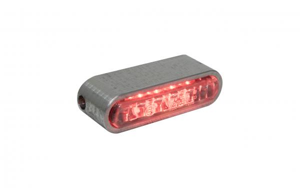 Taillight bright clear glas