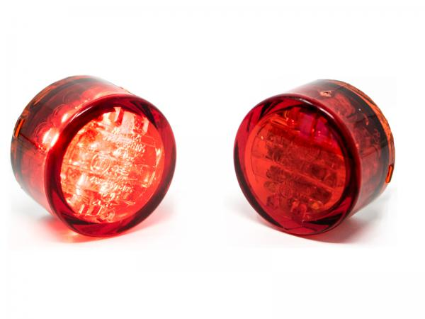 led taillight red glad