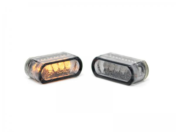 21mm Turn signal LED dark smoke