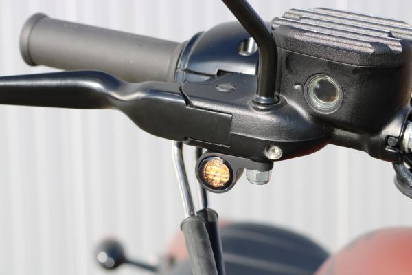 mounted turn signals on harley