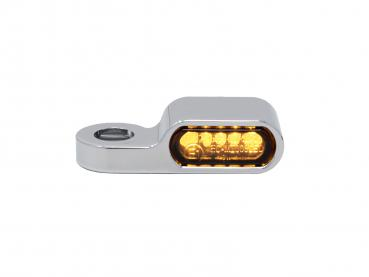 chrom front turn signal housing 21,5mm